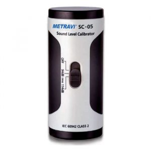 METRAVI SC-05 SOUND LEVEL CALIBRATOR
