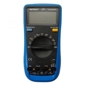 Metravi 19-Super Digital Multimeter Actual Image