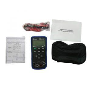 Metravi 01+ Thermocouple & RTD Source Calibrator product kit